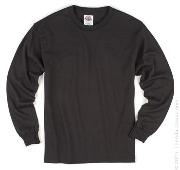 Black| Kids Long Sleeve T