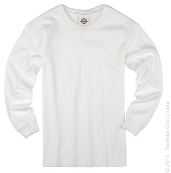 White Long Sleeve T for Kids | The Adair Group