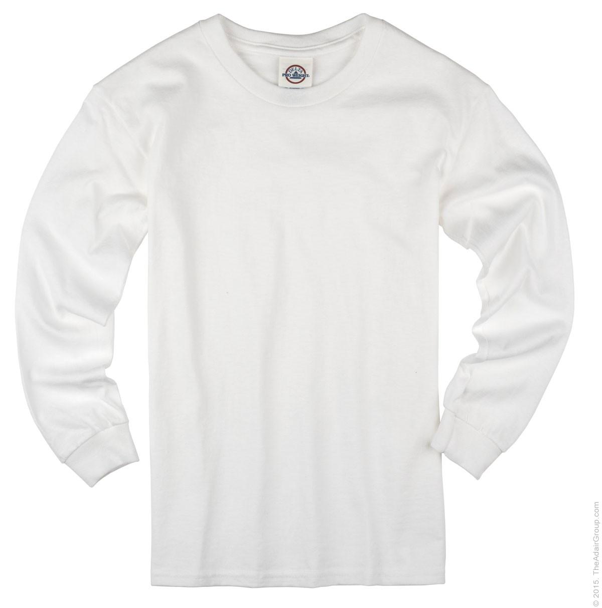 ba5bf889cf5b White Long Sleeve T for Kids | The Adair Group