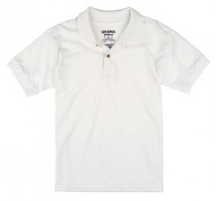 White| Kids Polo Shirt