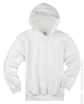 627ba2e2b White Pullover Hood for Kids | The Adair Group