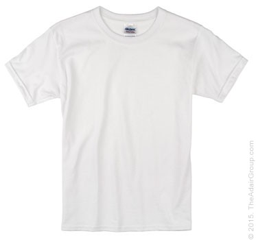 White T-Shirt for Kids | The Adair Group