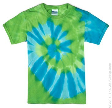 Lime/Turq Spiral|Kids *DOZEN* Price