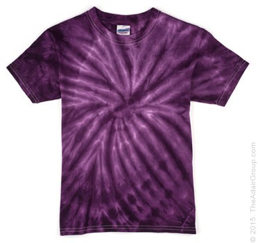 Purple Spider| Kids **Tie Dye T-Shirt**