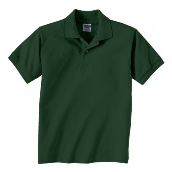 Forest Green| Kids Polo Shirt