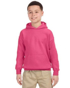 Hot Pink| Kids Pullover Hood