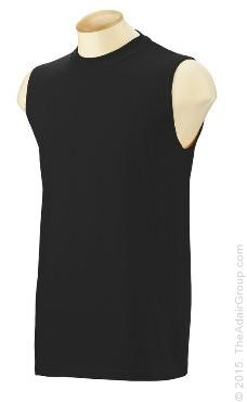 Black| Sleeveless T-Shirt