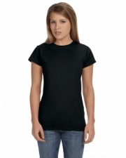 Black |Ladies Junior Fit Tee