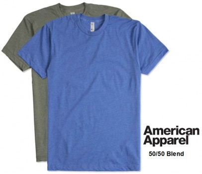 American Apparel|Adult T-Shirt (50/50)