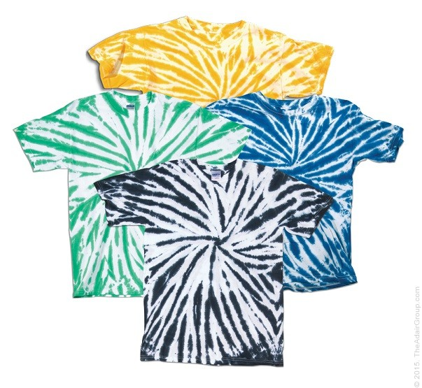 Assorted Pinwheels| Kids Tie Dye T-Shirt