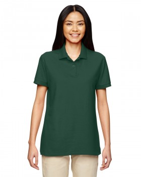 Forest Green| Womens Pique Polo