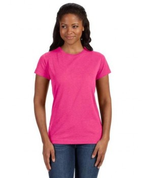 Hot Pink| Ladies Junior Fit Tee