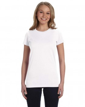 White| Ladies Junior Fit Tee