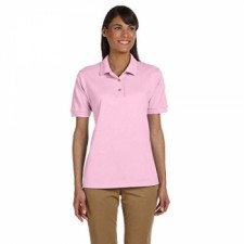 Light Pink| Womens Pique Polo