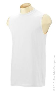 White| Sleeveless T-Shirt