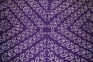 Bandhani dye image from Wikipedia.
